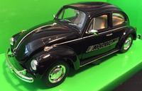 Welly 1:24 Volkswagen Beetle (black) s logem AHLBORN