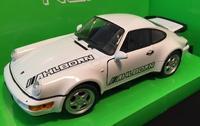 Welly 1:24 Porsche 964 Turbo (white) s logem AHLBORN