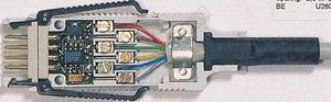 Vstupní ALMEMO-konektor programovatelný