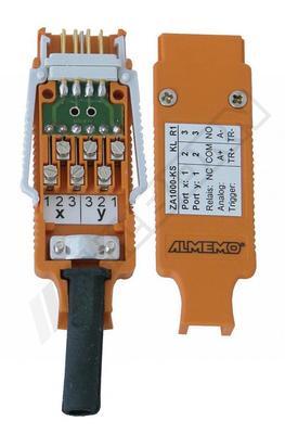 Vstupní ALMEMO-konektor pro kalibrátor a ALMEMO-in