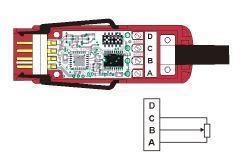 Konektor ALMEMO - D7 pro potenciometrické snímače