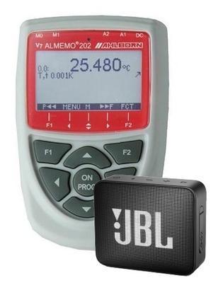 Datalogger - AHLBORN ALMEMO 202 + reproduktor JBL GO2 - 1
