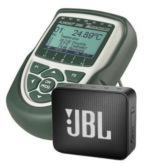Datalogger - sada ALMEMO 2590-4 SET + reproduktor JBL GO2 - 1