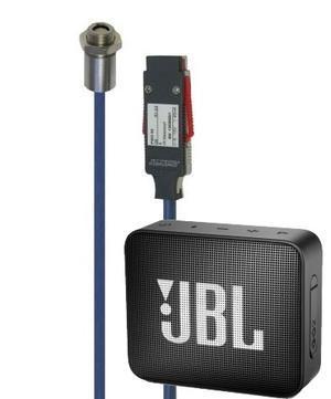 Infra- snímač teploty - AHLBORN ALMEMO FIAD43 + reproduktor JBL GO2 - 1