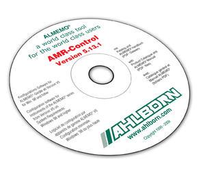 Software Almemo-Control - AHLBORN ALMEMO   Anglicky, Německy