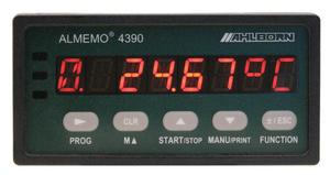 Panelový přístroj - AHLBORN ALMEMO 4390-2 s 1 univerz. vstupem