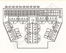 Konektor AHLBORN ALMEMO - 10-místný - 2