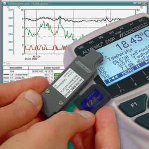 Referenční psychrometr - vysoce přesný vlhkoměr AHLBORN ALMEMO 1036-2 - 2