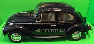 Welly 1:24 Volkswagen Beetle (black) s logem AHLBORN - 2