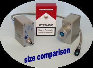 Pyrometr MAURER pro bezdotykové měření teplot KTRD 4075-1 - 2